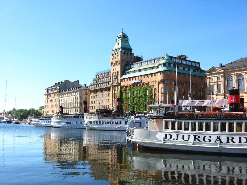 Nybrokajen from Weelo Stockholm tour